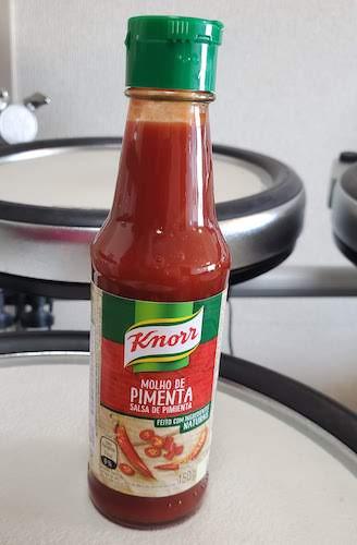 Knorr molho de pimenta